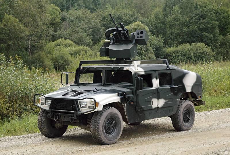 Дистанционно управляемый боевой модуль «Адунок-2В» (Беларусь)
