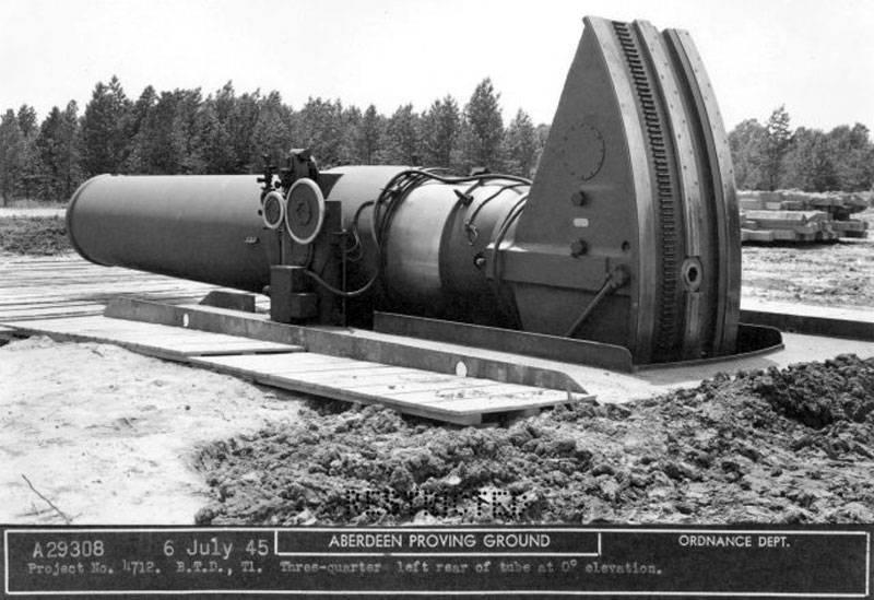 Мортира Little David: самое крупное орудие в мире