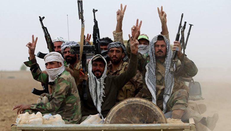 Отряды ополчения взяли под контроль участок шоссе между Мосулом и Раккой