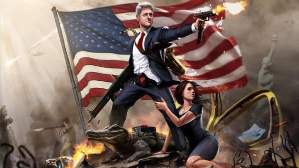 США — страна безумных президентов