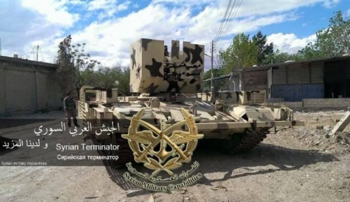 СМИ: сирийская армия осваивает тактику «боевых модулей»