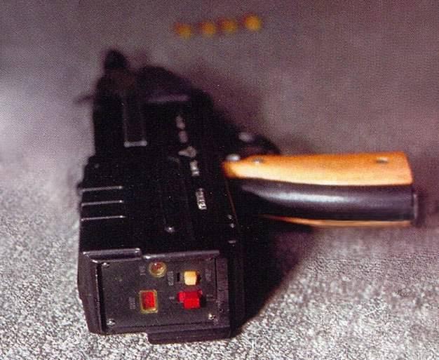 Газовый пистолет-пулемет ГМС-710