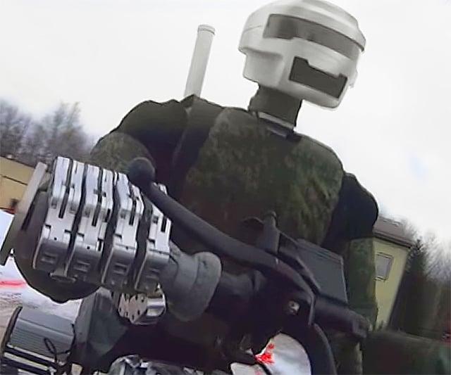 Боевые роботы в строю