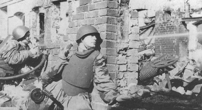 Ответы на вопросы. О штурмовых группах Красной Армии