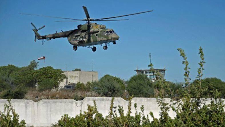МинобороныРФ: исламские боевики изгруппировки несбивали вертолет, онсовершил вынужденную посадку