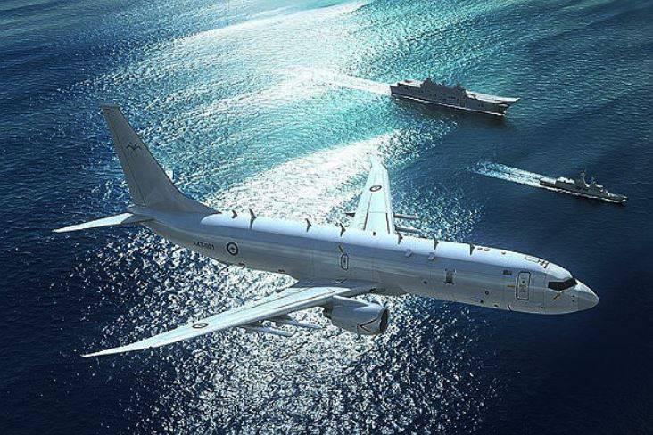 К русской авианосной группе вСредиземном море приблизился самолет США