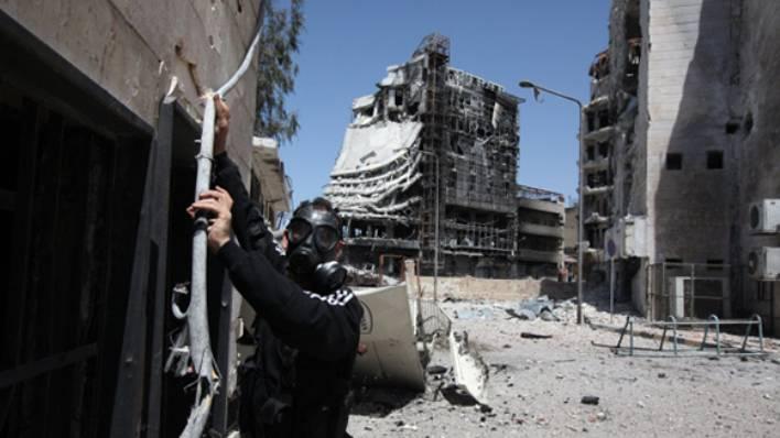 Командование коалиции: террористы в Мосуле могут применить химическое оружие