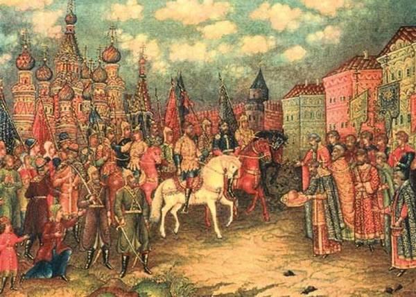 Потребность в праздниках народного единства появляется тогда, когда это единение отсутствует