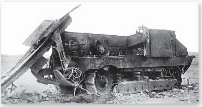 По танку вдарила болванка