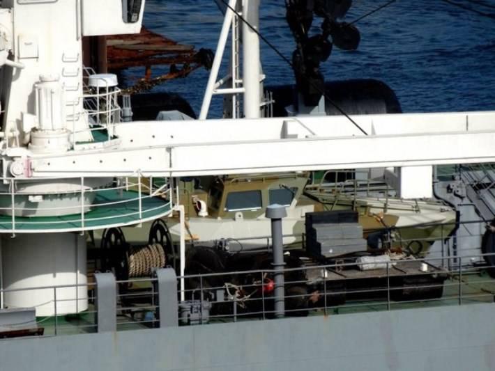 СМИ: Россия перебрасывает в Сирию патрульные катера «Раптор»