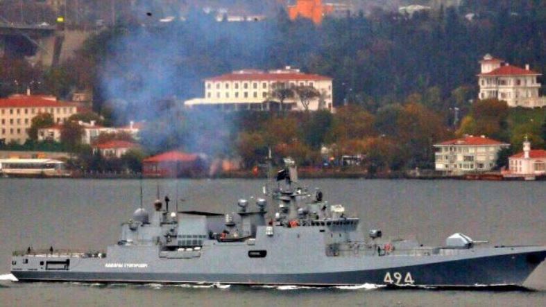 Guardian: прибытие «Адмирала Григоровича» в Сирию предвещает «зловещее развитие событий»