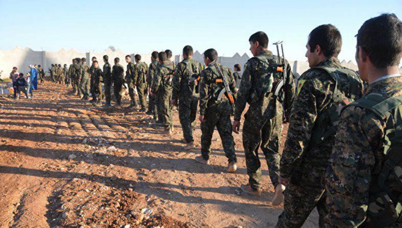 Сирийские курды с боями продвигаются к Ракке