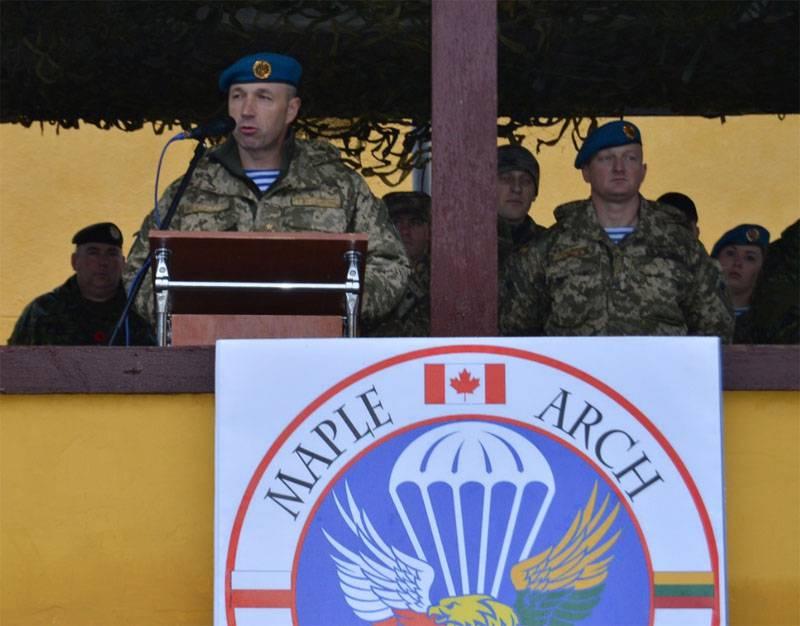 """Канадские военные выступают в качестве """"наставников"""" в ходе """"учений"""" во Львовской области"""