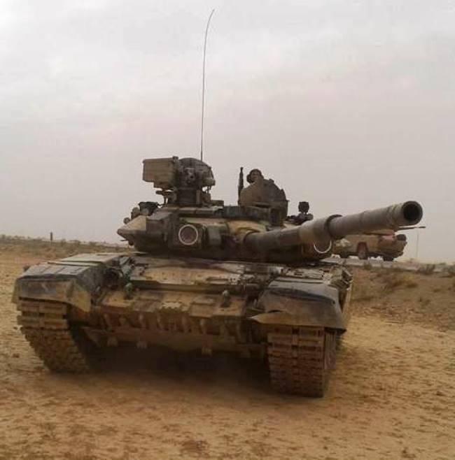 Т-90 в Сирии реализовали не все свои возможности