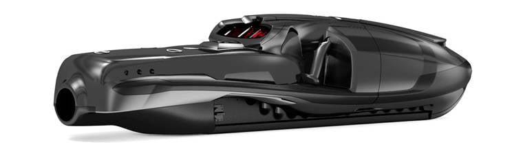 Подводный буксировщик Rotinor Seabob BlackShadow 730: скутер для боевых пловцов