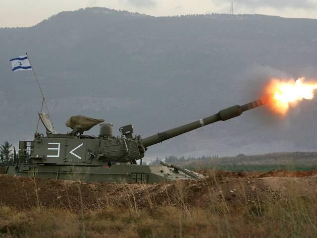 Израильские войска обстреляли позиции сирийской армии