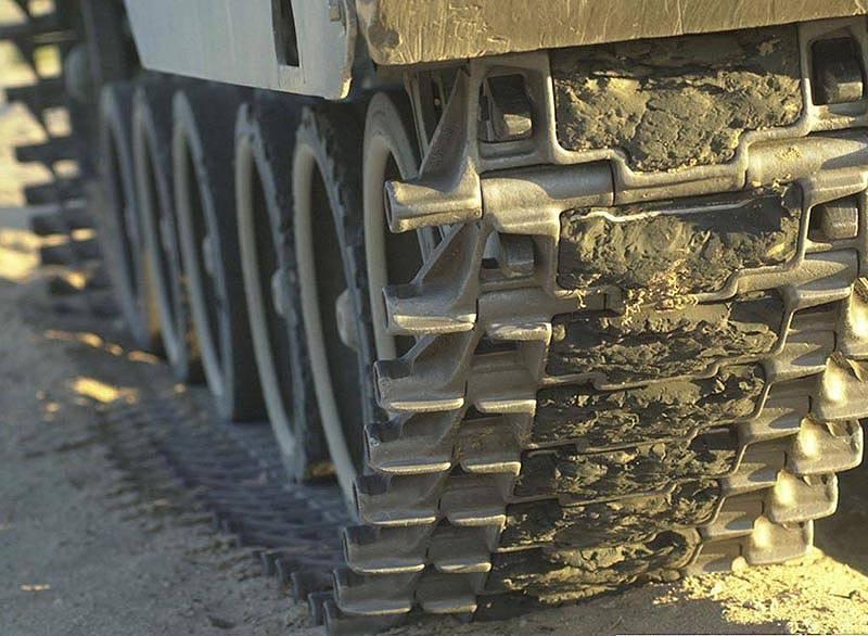 Тенденции разработки гусениц современных боевых машин