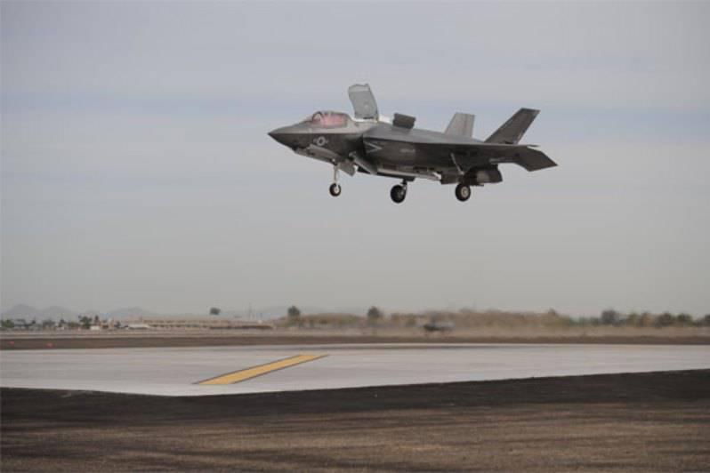 Новое ЧП с истребителем F-35
