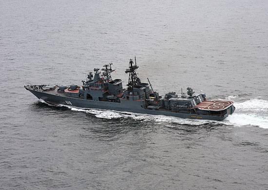 """Корабли ВМФ РФ """"послали привет"""" голландской субмарине в Средиземном море"""