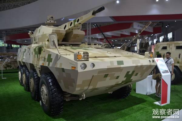 Колесный бронетранспортер VP10 с боевым модулем CS/AA5 (Китай)