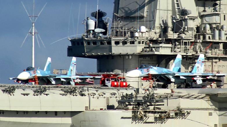 СМИ: израильтян встревожила авианосная группа в Средиземном море