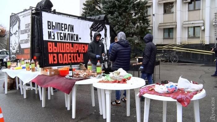 Одесса: провожали Мишу, порвали три баяна