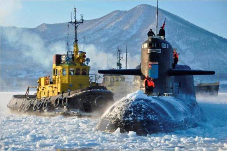 Экс-заместитель главкома ВМФ рассказал о задачах Северного флота в Арктике
