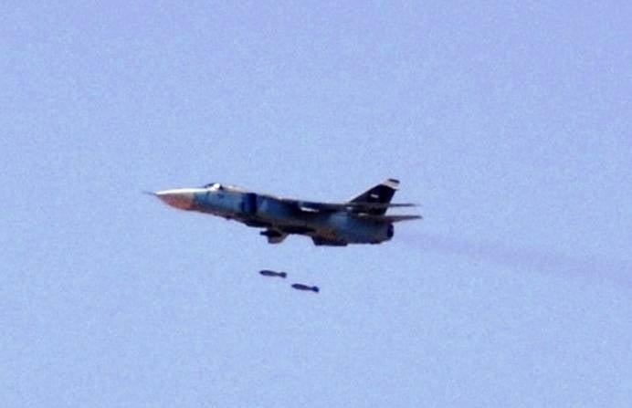СМИ: сирийская авиация начала применять бомбы ОФЗАБ-500