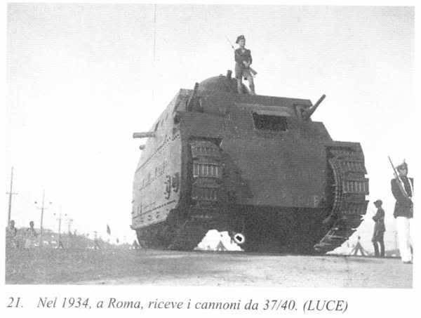 Тяжелый танк Fiat 2000 (Италия)