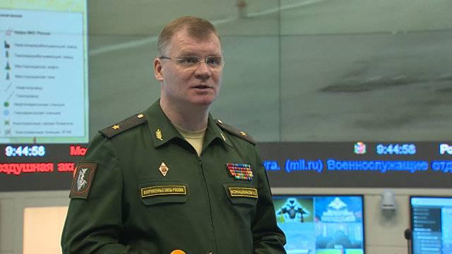 Игорь Конашенков: Есть доказательства применения боевиками химоружия в Алеппо