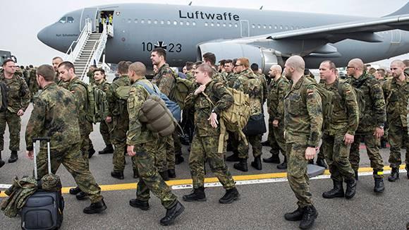 Немецкие спецназовцы обучают литовских коллег противостоянию «гибридным угрозам»