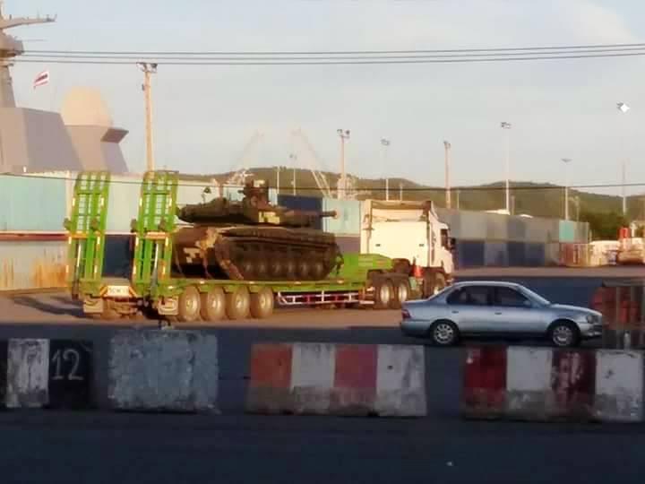 «Укроборонпром» установил вТаиланд еще одну партию танков «Оплот»