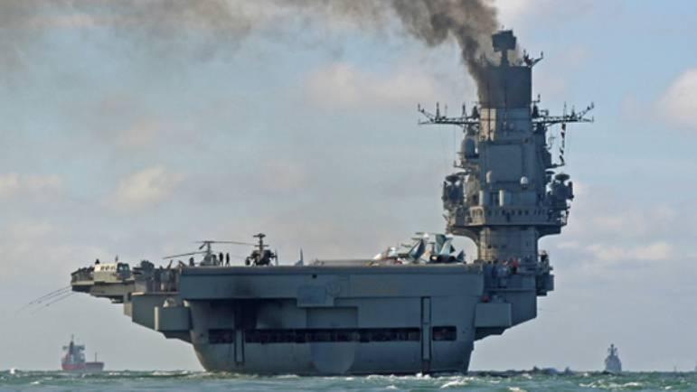 СМИ: прибытие «Адмирала Кузнецова» вынудило боевиков в Алеппо искать компромиссы