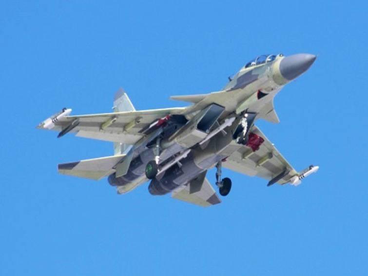 Первый Су-30МКИ(А) для Алжира проходит лётные испытания