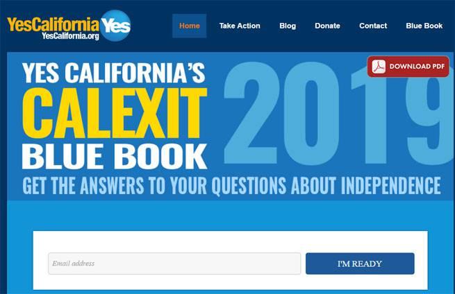 Калифорнийцы собрались в 2019 году провести референдум по выходу штата из состава США