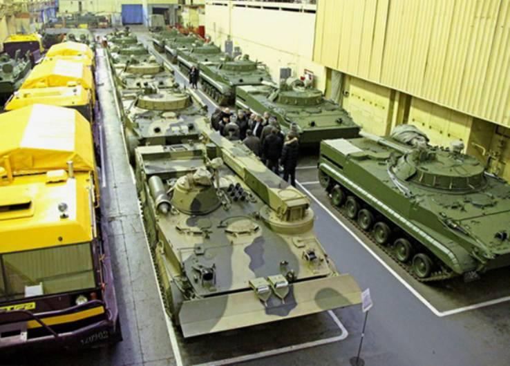 Единственный в РФ производитель БМП войдёт в состав «Ростеха»