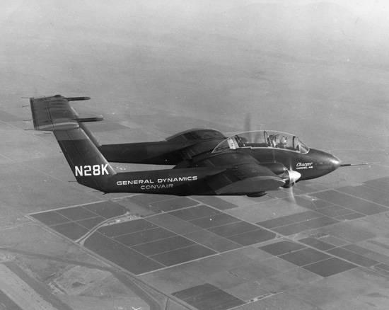 Штурмовик Convair Model 48 Charger (США)