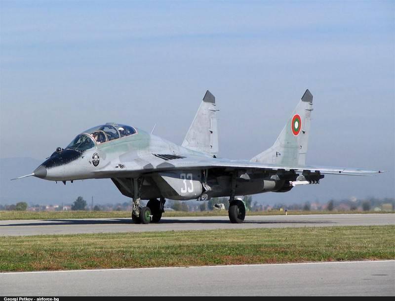 Минобороны Болгарии купит у России 10 двигателей для МиГ-29