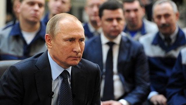 Путин распорядился вновь помочь украинскому Геническу газом
