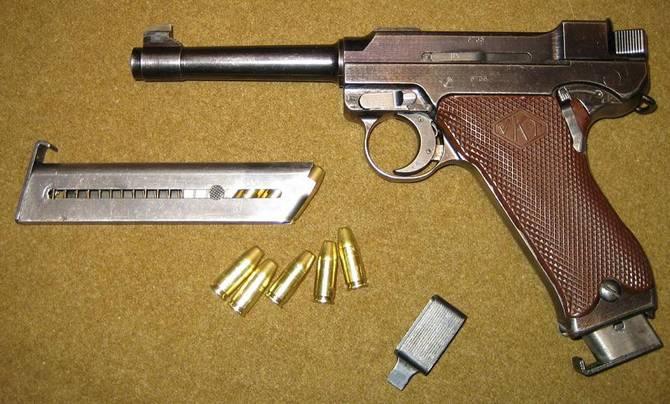 Lahti L-35. Финский пистолет Зимней войны