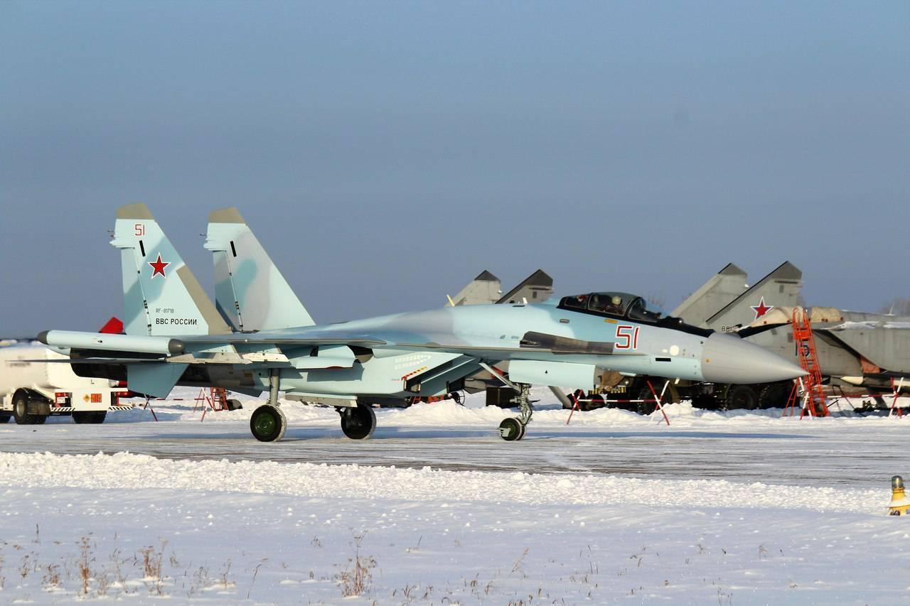 КнААЗ отправил четыре истребителя Су-35С вадрес заказчика