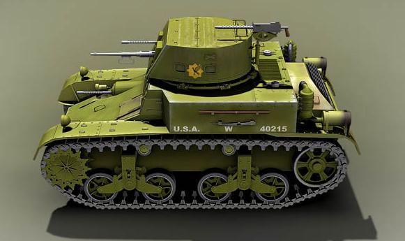 Tanques ligeros americanos. Entre las guerras, entre las líneas ...