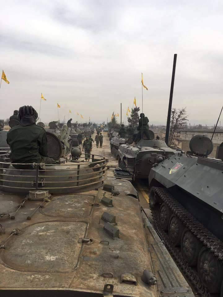 В Сирии прошёл смотр вооружения «Хезболлы»