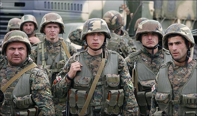 Грузинские военнослужащие участвуют в третьем за год совместном учении с НАТО