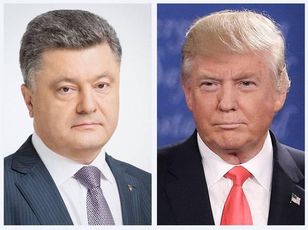 Порошенко и Маккейн требуют от Трампа жёсткости по отношению к России