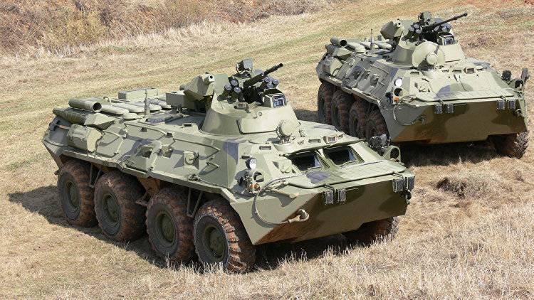 В следующем году Росгвардия получит новые бронетранспортёры