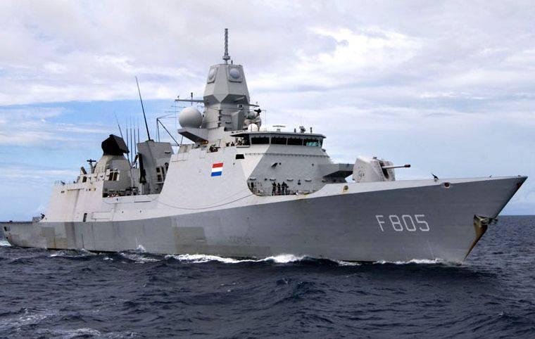 Нидерланды и Бельгия решили объединить заказ на новые корабли для своих флотов