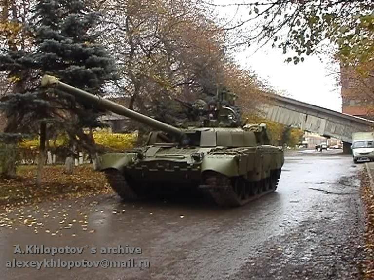 नई T-80BV टैंक आधुनिकीकरण परियोजना