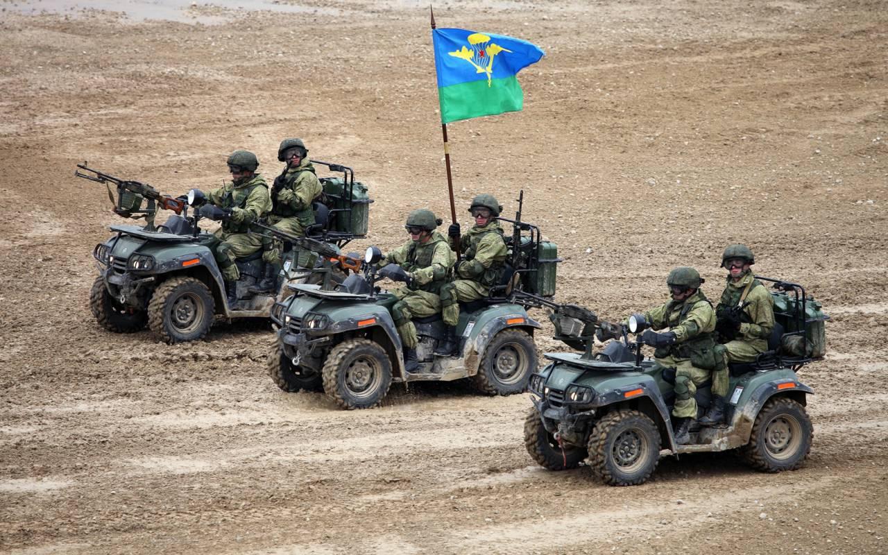 Квадроциклы российской армии