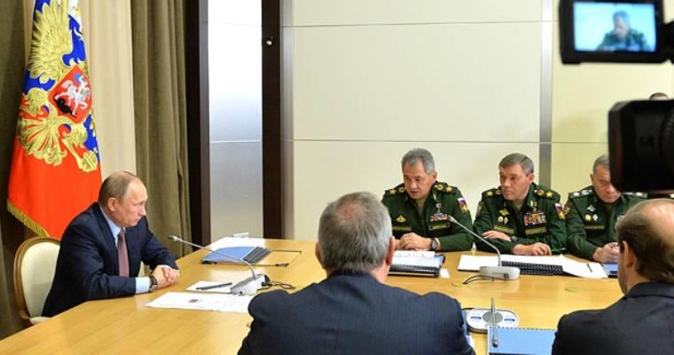 Путин: полученный в Сирии опыт необходимо внедрять в практику Вооружённых сил